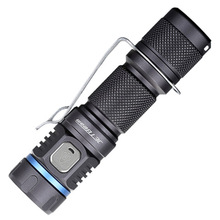 Rechargeable Flashlight JETBeam E40R SST40 N4 BC max. 1100Lm beam throw 185 meter tactical torch + 18650 2600mAh Li-ion Battery usb rechargeable flashlight nitecore mh10 7 modes max 1000 lume beam distance 232 meter outdoor torch 18650 2600mah battery