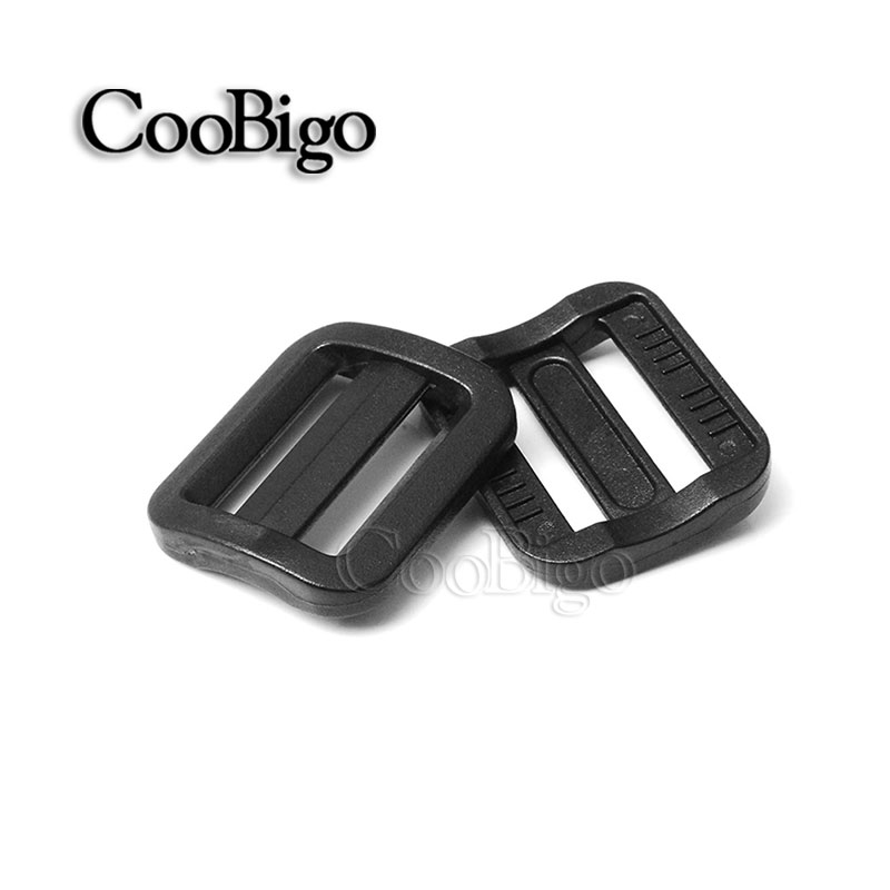 Buckles & Hooks Apparel Sewing & Fabric Amiable 10pcs 3/4 Plastic Slider Tri-glide Adjust Tri-ring Black Curve Buckle For Bag Parts Dog Collar Harness Backpack Strap Webbing Clients First