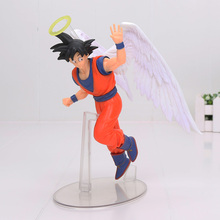 17cm Japanese Anime Figure Toys Dragon Ball Z Action Figure Angel Son Goku Figures Doll PVC Model Kids Toy