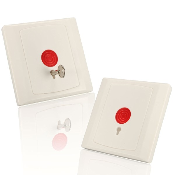 Emergency Safe Security Panic Button Switch Panel Key Reset For Door Access Control