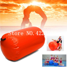 60 см Dia long105cm безопасные мягкие надувные воздушные ролики для физической подготовки, индивидуальный надувной воздушный ролик