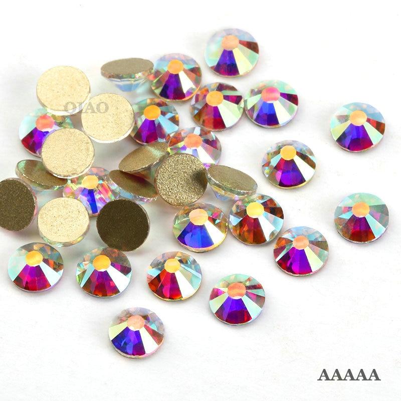 Vrhunski AAAAA Promocije! SS3-SS30 Crystal AB ravna dijamantna - Umjetnost, obrt i šivanje - Foto 2
