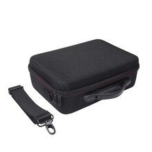 SIV New Mavic Preto EVA Rígido Carry Case Bag Bolsa Para DJI Quadcopter Ar Drone Acessórios Saco 2018 Ombro