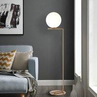 220v 110v Nordic Design Post Modern Gold White Meatl LED Tall Floor Lamp Stand Light With Table for Living Room Deauty Salon