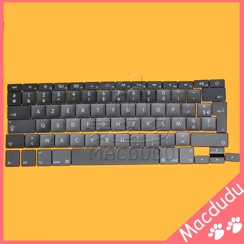 AC06 Full Set Keyboard Replacement Keys for 13 Macbook Air A1369 A1466 2011-2015 French Layout *Verified Supplier* new laptop keyboard for apple macbook air a1466 fr french layout