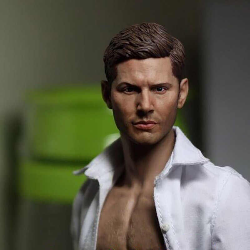 1 6 Scale Dean Winchester Jensen Man Male Head Sculpt Version Short Hair Head Carving Headplay For 12 Action Figure Body Toys Action Toy Figures Aliexpress