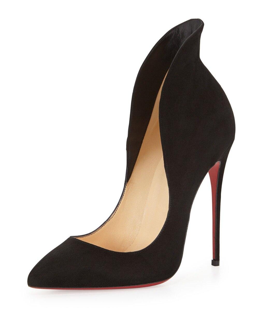 ФОТО ZK women fashion sexy high heels pointed toe pumps shoes EU size 34--45
