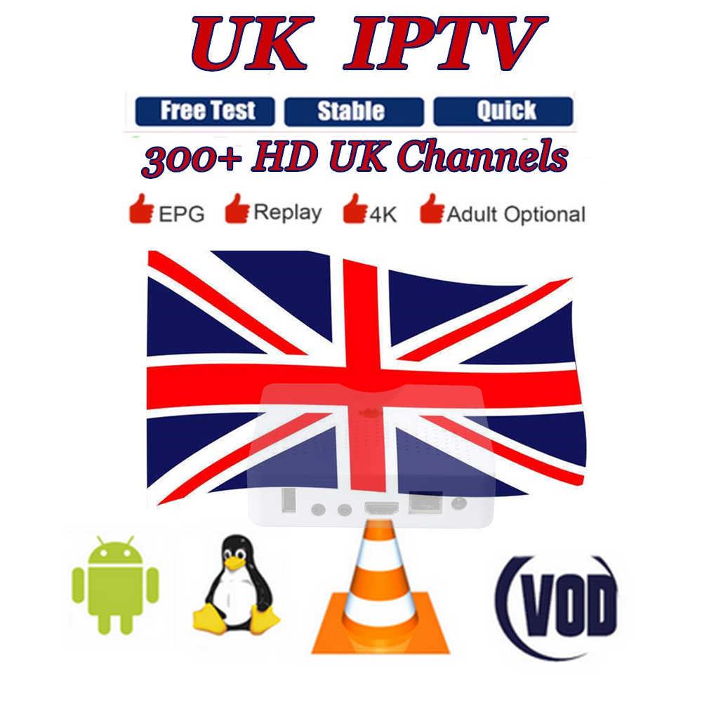 AzAmerica TVLINK Enigma2 IPTV UK support 300+ HD UK Channels