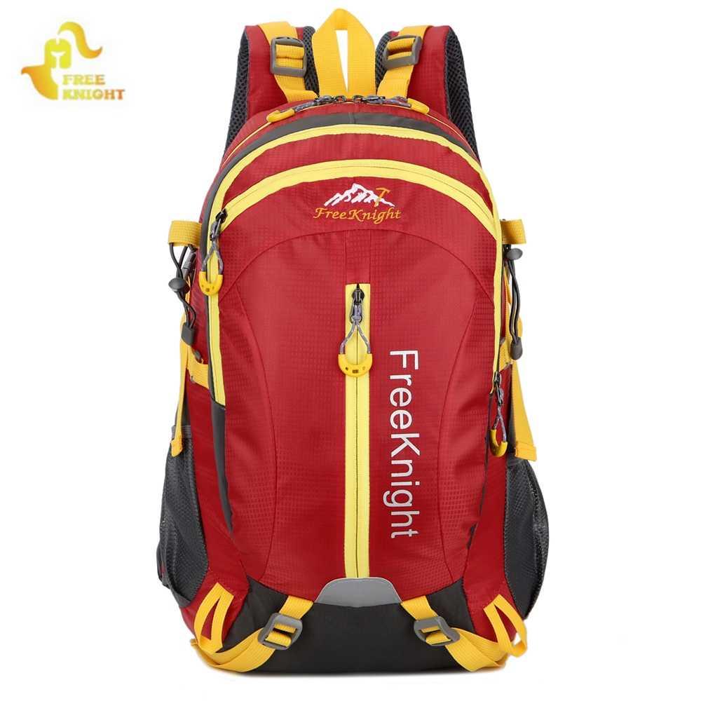 FreeKnight 2018 moda grande-capacidade de multi-propósito saco ocasional saco dos homens mochila de viagem à prova d' água 15 polegada notebook mochila