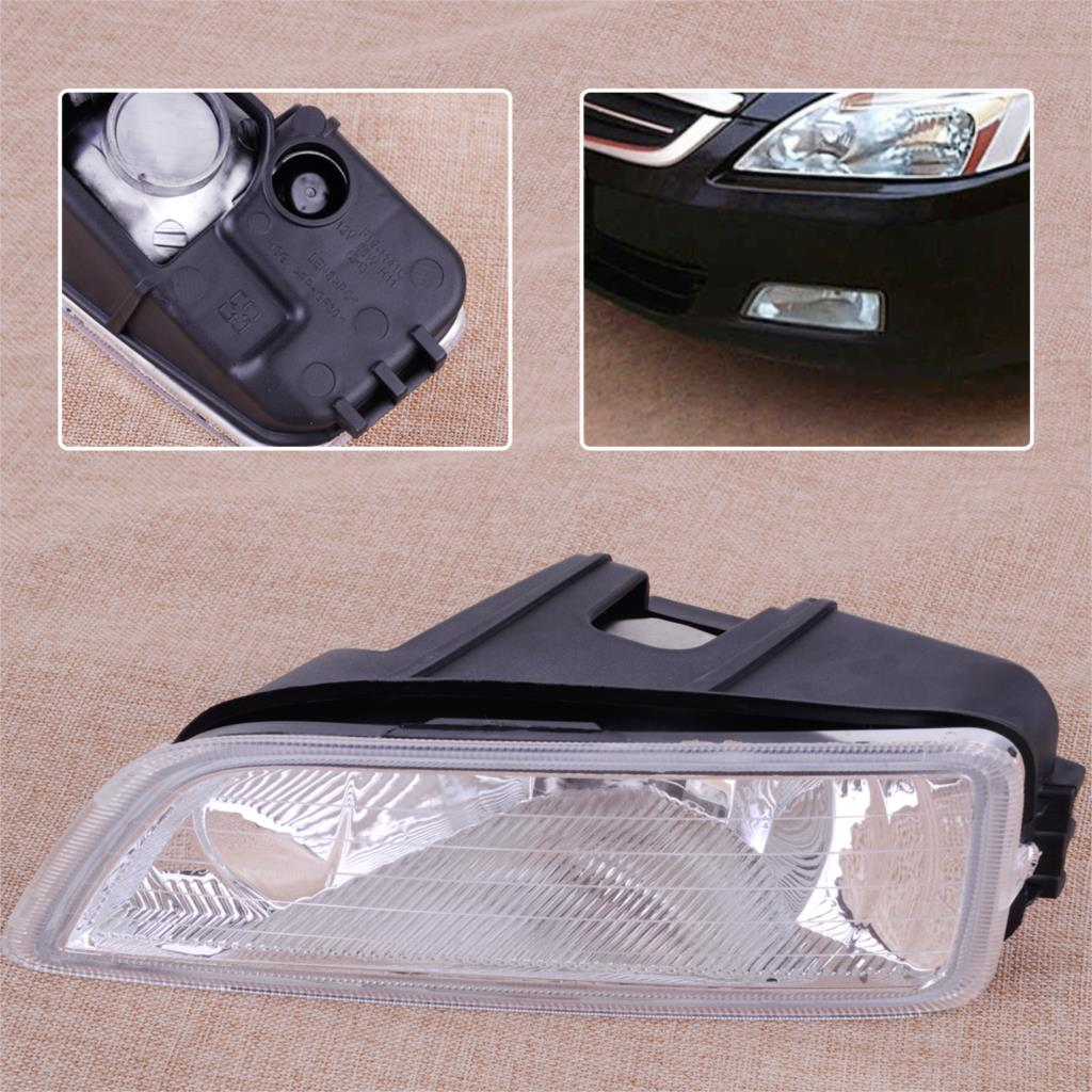 CITALL 33951-SDA-H01 Front Left Side Fog Light Lamp Cover Shell Fit for Honda Accord 2003 2004 2005 2006 2007