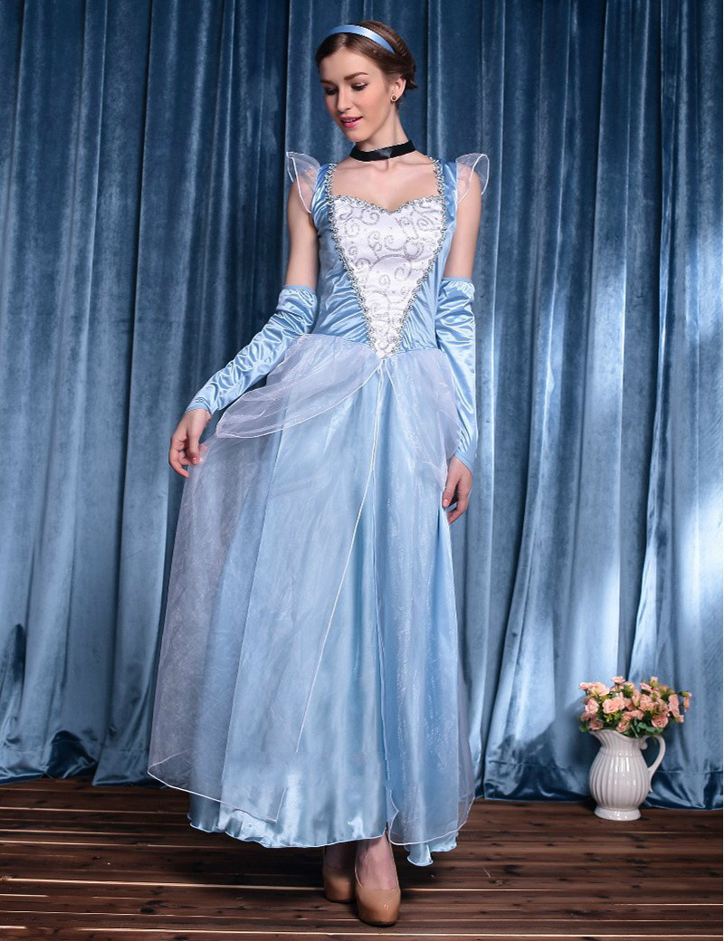 MOONIGHT-Movie-Sandy-Girl-Cinderella-Princess-Adult-Cosplay-Costume-Deluxe-Party-Women-Fancy-Dress-Halloween-Masquerade
