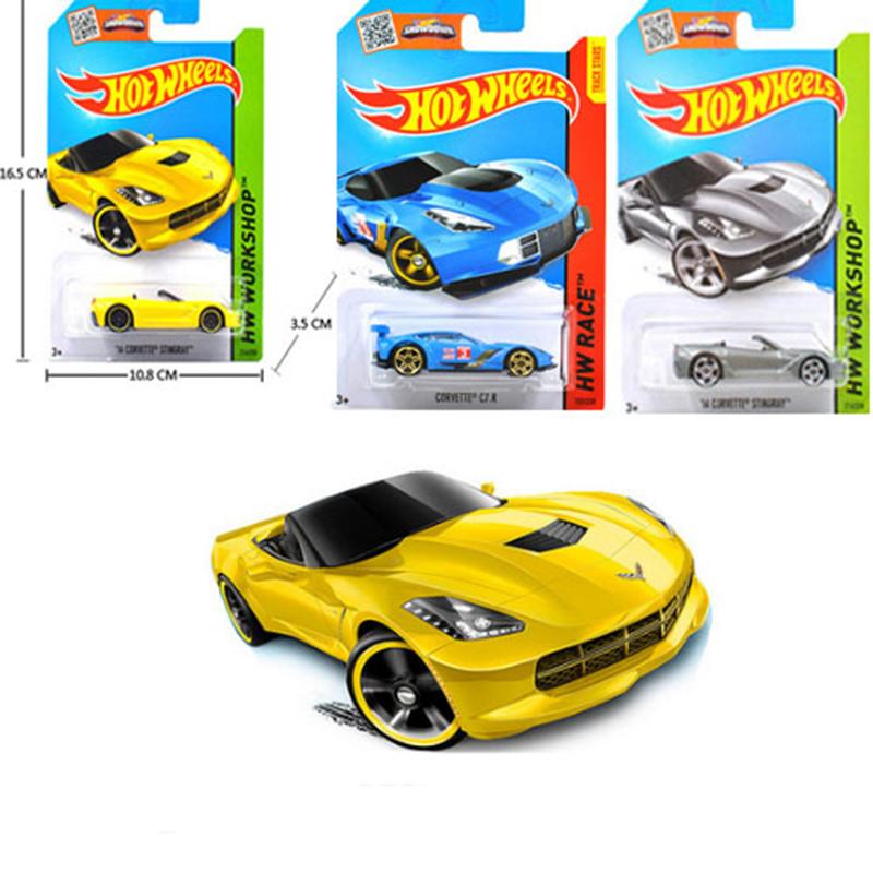 1 PCS Hot Wheels Car 100% Original Basic Car Toy Mini Alloy Collectible Model HotWheels Cars Toy For Children C4982 Sent Random