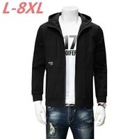 2018 New Plus Size 8XL 7XL 6XL 5XL Large Size Trend Of Students Polyester Jacket Men