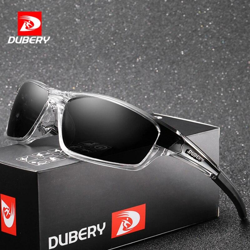 700589ca5 DUBERY Óculos Polarizados Motorista Óculos de Sol Dos Homens Da Marca Para  O Sexo Masculino Condução
