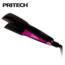 PRITECH Electric Tourmaline Dry & Wet Use Hair straightener Wide Plate Straightening Irons Styling Tools Free Shipping