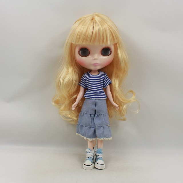 ICY Neo Blythe Doll Golden Hair Regular Body 30cm