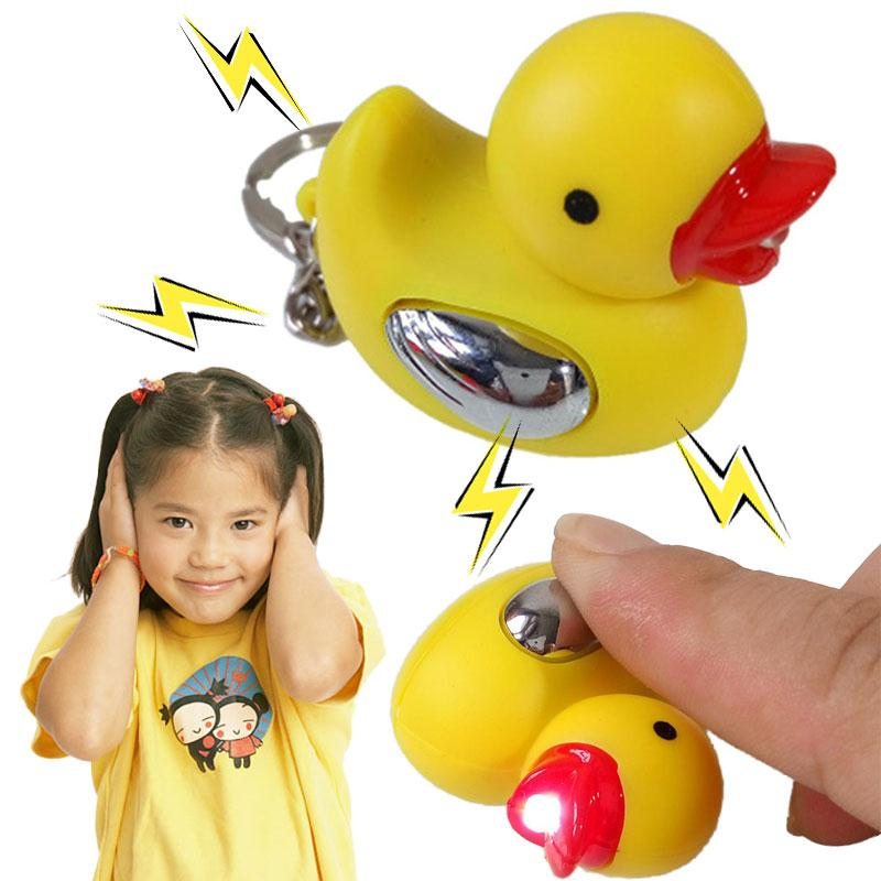 Funny Electric Shocking Little Duck Fools Day Tricks Toys Pranks Kids Gift