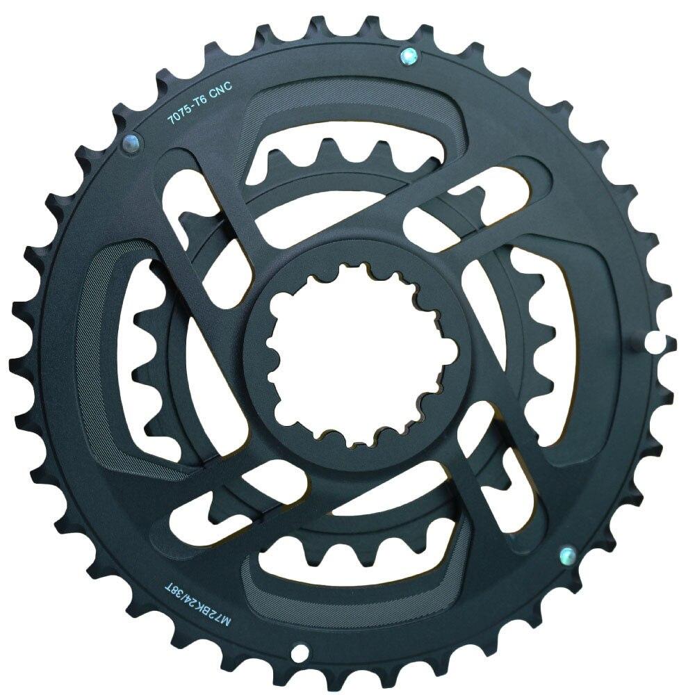 Full CNC 24T 38T GXP 10s 11s Chainwheel Road Bicycle Crankset Mountain Bike XX1 X01 X1