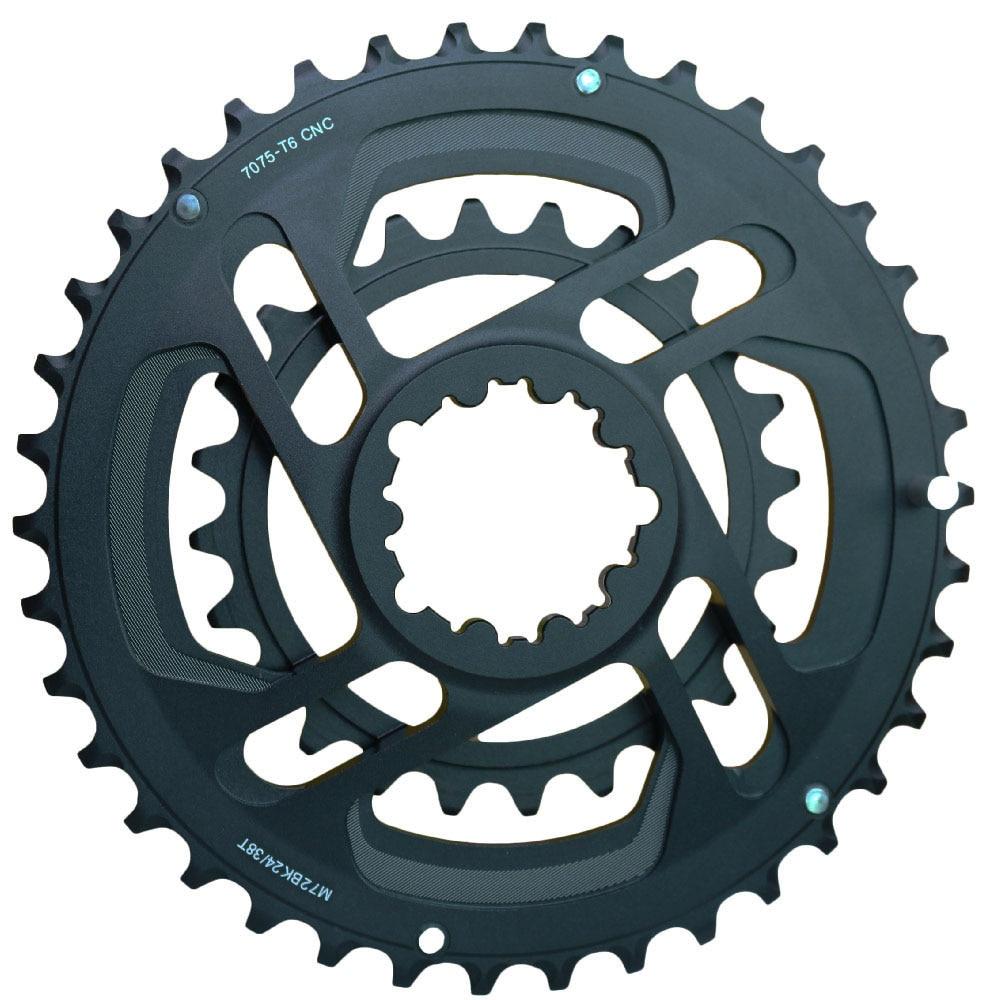 CNC complet 24 T 38 T GXP 10 s 11 s pédalier de vélo de route VTT XX1 X01 X1 pédalier 7075 Alu pièce de vélo forgé