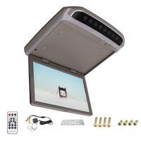 HD 10.2 дюймов SD HDMI FM автомобиля 1080 P Автомобильный потолочный Мониторы автомобиля потолок широкий над головой ЖК дисплей Мониторы дисплей 180 М
