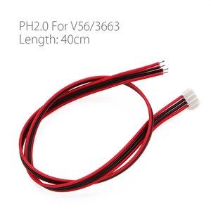 Image 2 - 10Pcs/lot PH2.0 PH2.45 4P Cable For 3663 3463 V29/56/59 SKR.03 LCD Panel Speaker Amplifier audio 40cm 60cm