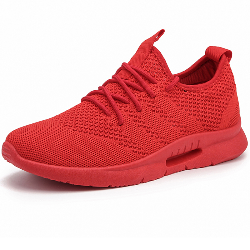 High Quality Breathable Men Running Shoes Black Footwear Sneakers Male Walking Shoes zapatos Man Sport Shoes Five Color Outdoor