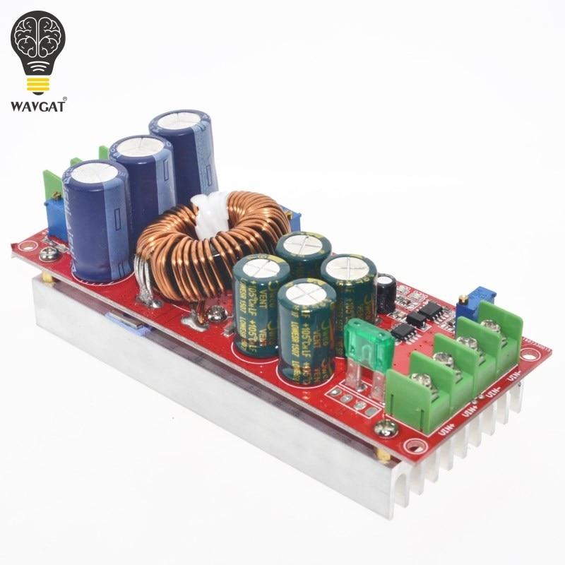 5 pcs/lot 1200 W 20A DC convertisseur Boost Module d'alimentation en 8-60 V sortie 12-83 V