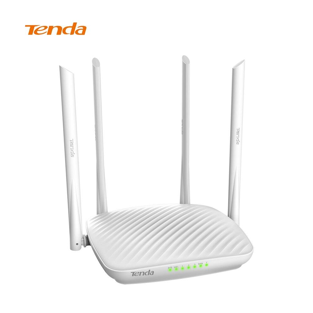 Tenda F9 600 Mbps Sans Fil Wifi Routeur, 4 * 6dBi Antenne Sans Fil Adaptateur Réseau 2.4G Wifi Routeur Répéteur COMPATIBLE DHCP