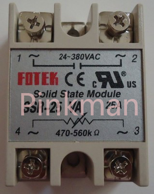 цена на 1 pc FOTEK 25VA Solid State Relay SSR Resistance type pressure regulating