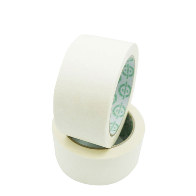 32 Meters Long Masking Tape Beige Color Car Spraying Single Side Adhesive Tape For Car House Oil Painting