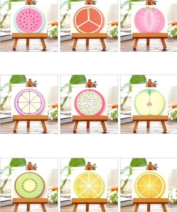 72packs/lot Cute Sweet 3D Fruit design Ds