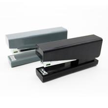 Kaco LEMO Stapler 24/6 26/6 with 100pcs Staples for Paper Binding Business School Office Supplies Black Dark-green