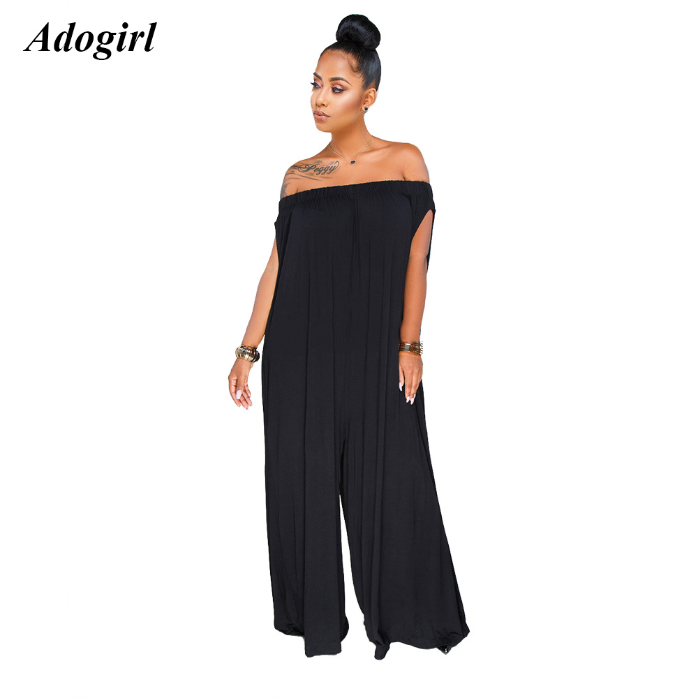 LLYGE Womens Sleeveless Striped Halter Belted Long Wide Leg Jumpsuit with Pockets