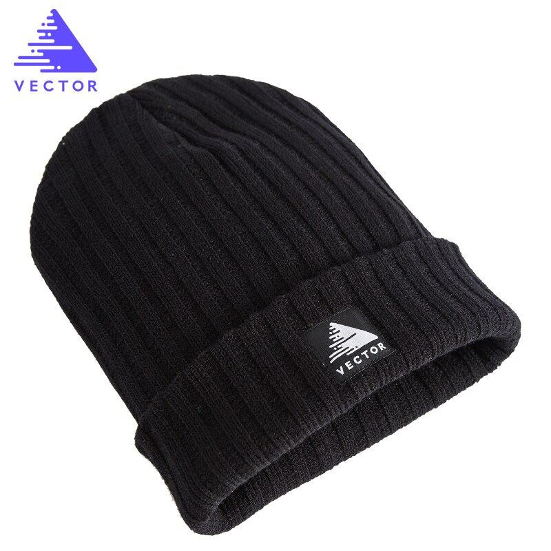 Prix pour VECTEUR Unisexe Chaud Hiver En Plein Air Ski Randonnée Caps Respirant Anti-statique Tricoté Beanie Cap Thermique D'hiver Chapeaux