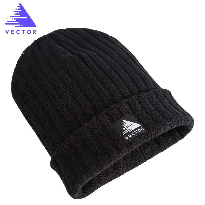 Unisex Warm Winter Outdoor Skiing Hiking Caps Breathable Anti-static Knitted Beanie Cap Thermal Winter Hats