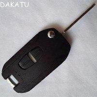 DAKATU Brand New 2 Button vibrazione Modificato pieghevole remote shell chiave per Mitsubishi ASX LANCER-EX GRANDIS Outlander Lama A Destra