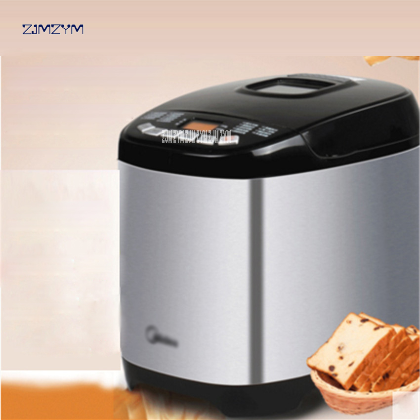 цена на AHS20AC-PASY bread maker 750-1000g household Stainless steel jam making yogurt rice wine automatic noodles dough Bread Makers