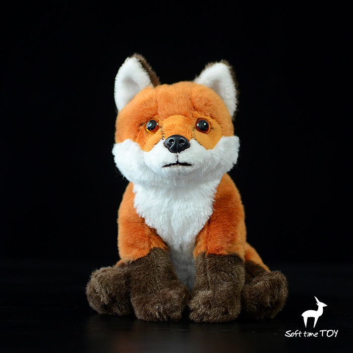 Children's Toys Plush Fox  Doll Toy  Gifts  Stuffed Animal Simulation Red foxes Dolls stuffed animal 44 cm plush standing cow toy simulation dairy cattle doll great gift w501