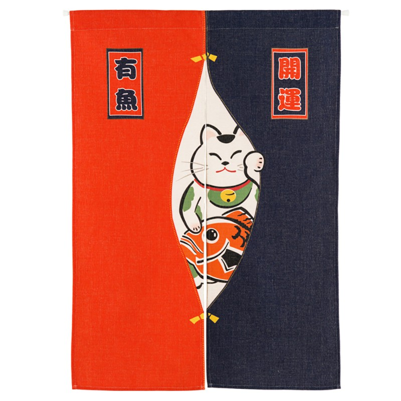 Japanese Noren Half Open Door Curtain Tapestry Screens Cotton Linen Hanging Doorway Drape Valance Home textile