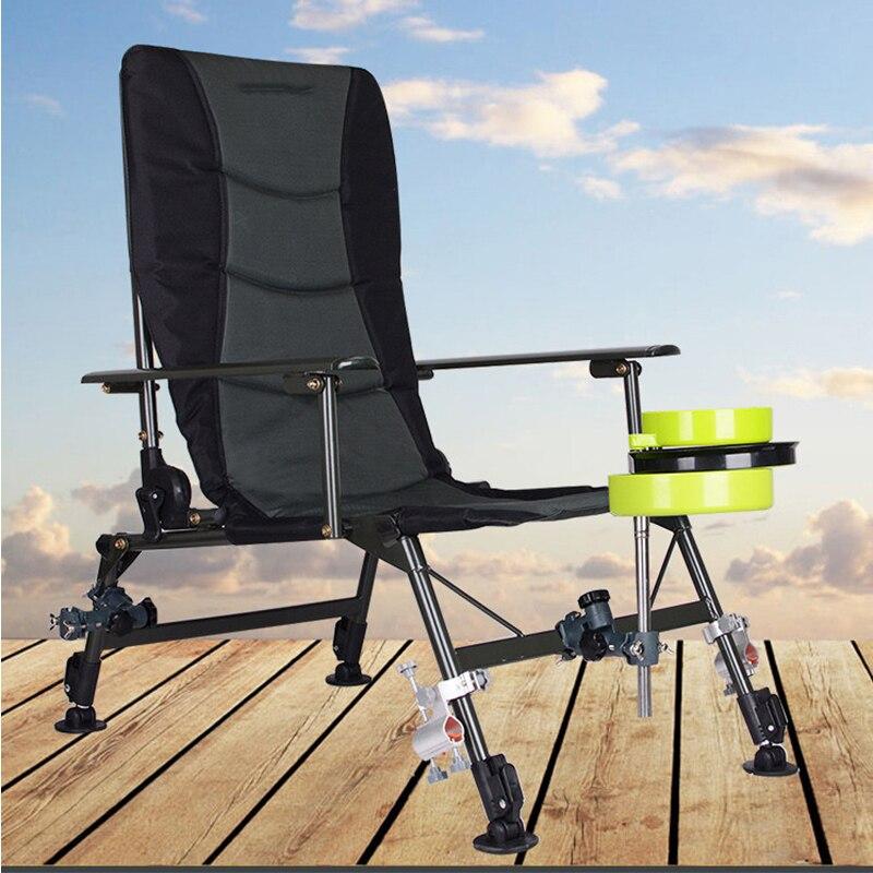 2018 Plage Avec Sac Portable chaises pliantes En Plein Air de Pique-Nique BARBECUE De Pêche chaise de camping Siège tissu oxford siège léger pour