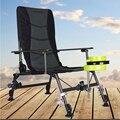 2018 playa con bolsa sillas plegables portátiles al aire libre Picnic barbacoa pesca Camping silla asiento Oxford paño ligero asiento para
