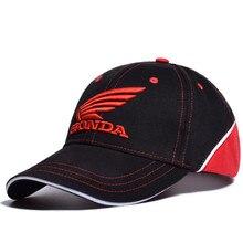 61a332ff8fb14 Gorra de béisbol de Moto GP HONDA logotipo bordado Casual Snapback sombrero  2019 nuevo moda de