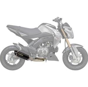 Image 5 - Sistema de escape completo para motocicleta KAWASAKI, silenciador de bucle para motocicleta KAWASAKI Z125 Z 125 PRO 2013 2018 con silenciador, tubo central antideslizante