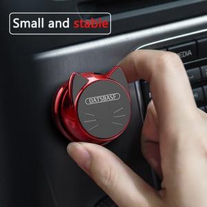 Image 4 - OATSBASF Soporte Universal de teléfono para coche, soporte magnético para teléfono móvil con GPS de 360 grados, para Xiaomi Redmi Note 7