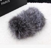 2020 new Paris style real fox fur collar fur hat collar fashion head scarf