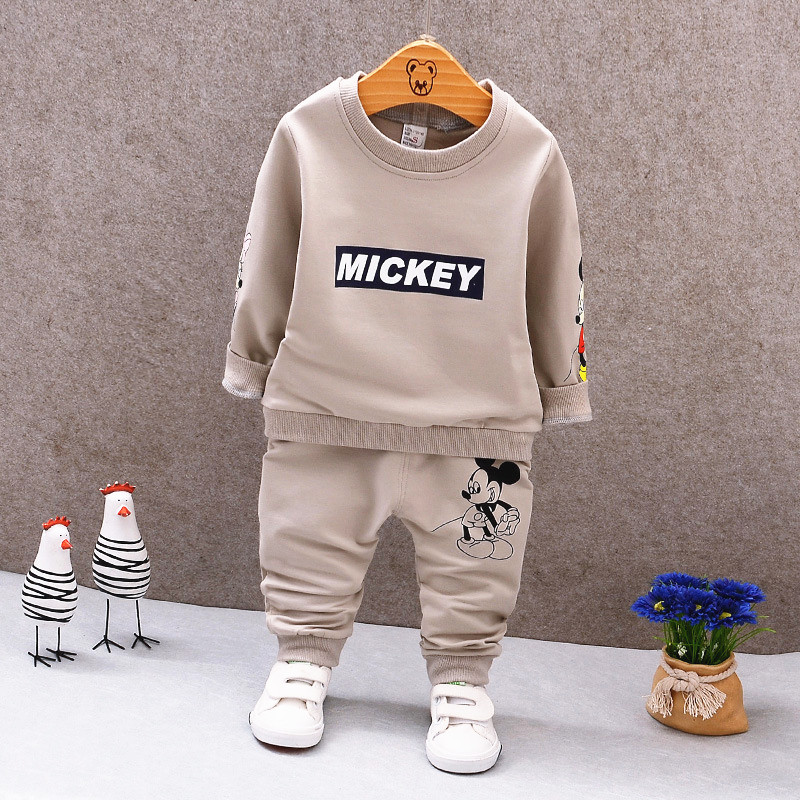 Spring Autumn Baby Boys Clothes Full Sleeve T-shirt And Pants 2pcs Cotton Suits Children Clothing Sets Toddler Brand Tracksuits 2016 spring autumn cotton fashion boys clothes 3pcs children clothing sets long sleeve t shirt vest casual pants outfits b235
