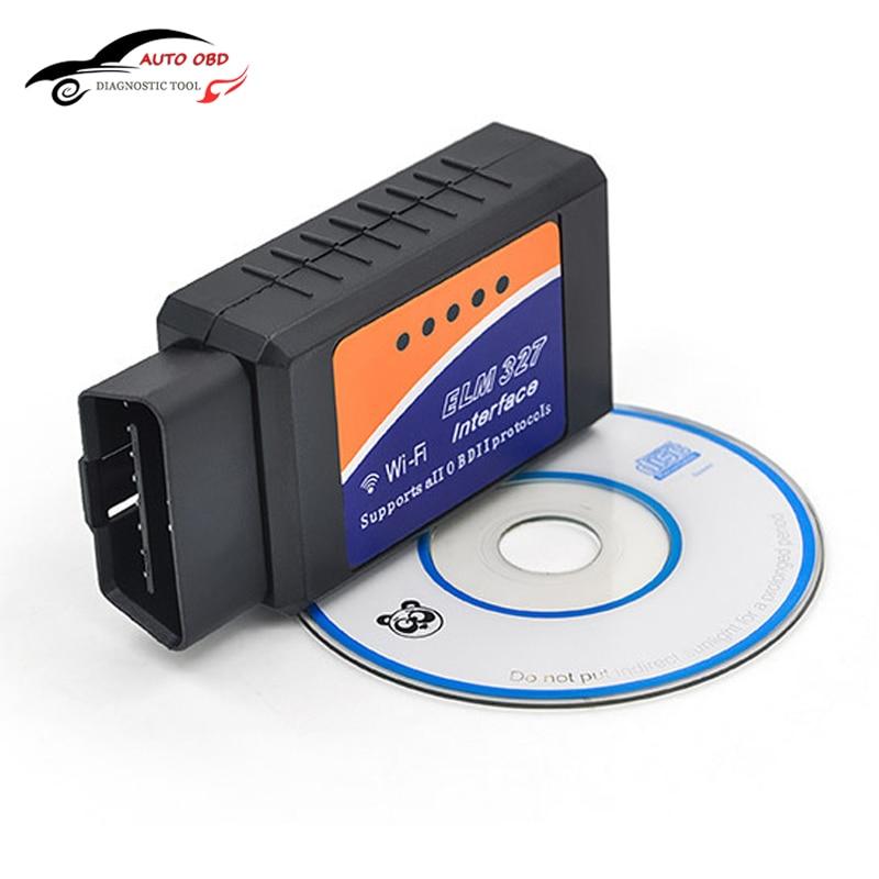 Prix pour Elm327 v2.1 obd2 can-bus wifi elm 327 auto dianostic outil interface scanner obd2 protocoles pour iphone/ipad/ipod