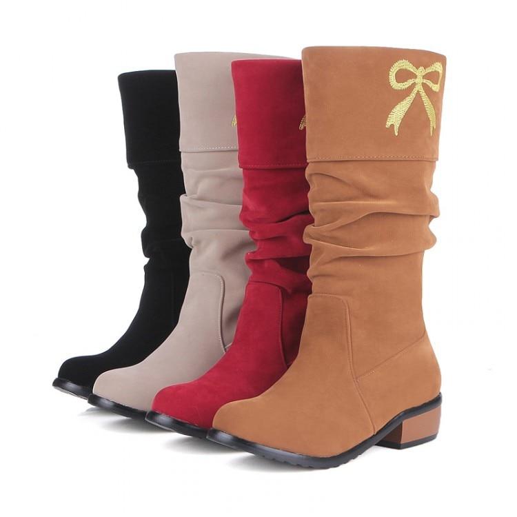 ФОТО 2017 New Boots Botas Mujer Shoes Women Fashion Motocicleta Mulheres Martin Outono Inverno Botas De Couro Boots Femininas A35