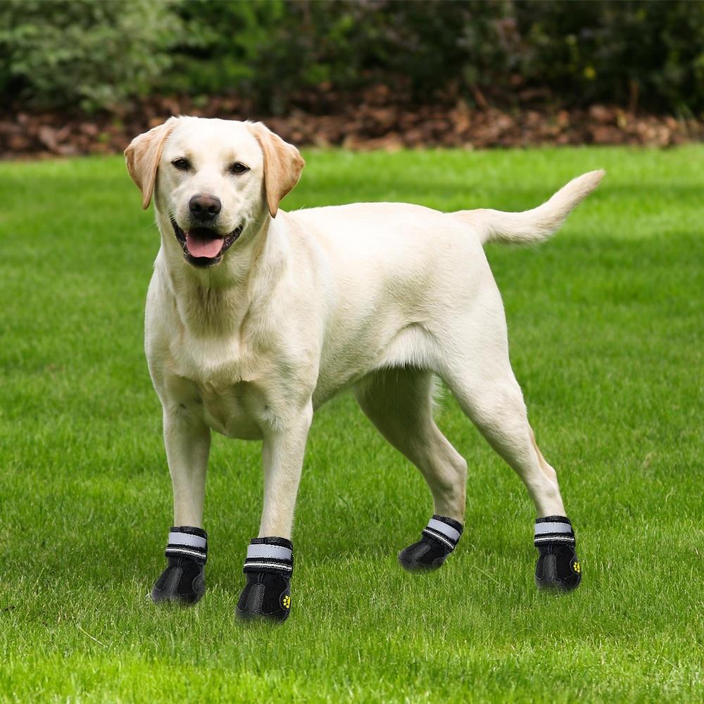 Reflective Dog Shoes Socks Winter Dog