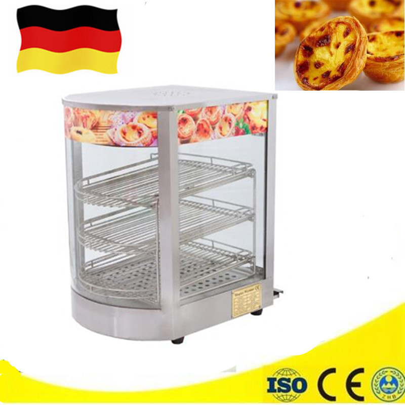 Commercial 220V 850W Display Cabinet Keep Food Warmer Countertop Hot Dog Cake Showcase Steamer high quality hot dog display showcase food warmer stainless steel bread sandwich countertop tool